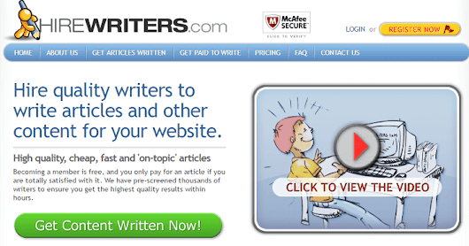 HireWriters Review-Best Article Writing Service starting  at $1.5