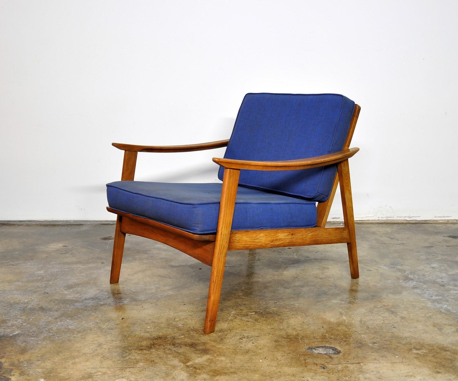 SELECT MODERN: Danish Modern Lounge or Easy Chair