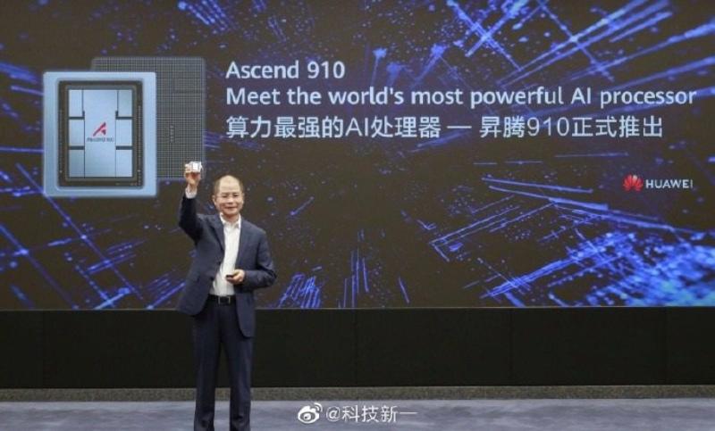 Huawei unveils Ascend 910 AI chip, MindSpore