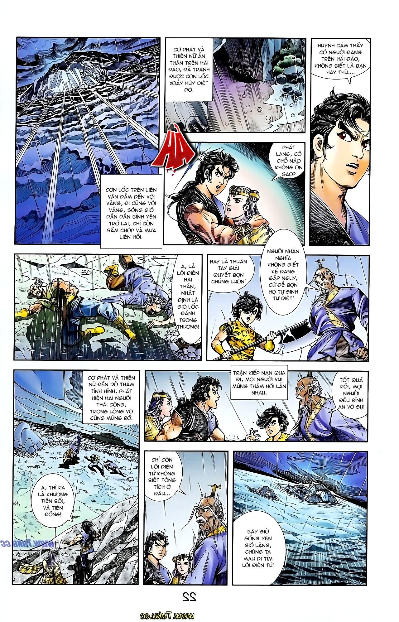 Cơ Phát Khai Chu Bản chapter 129 trang 19