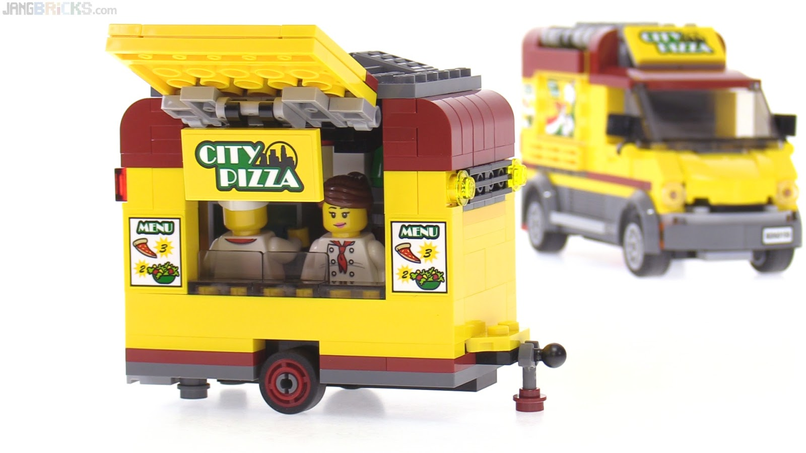 How To Make A Lego Food Trailer