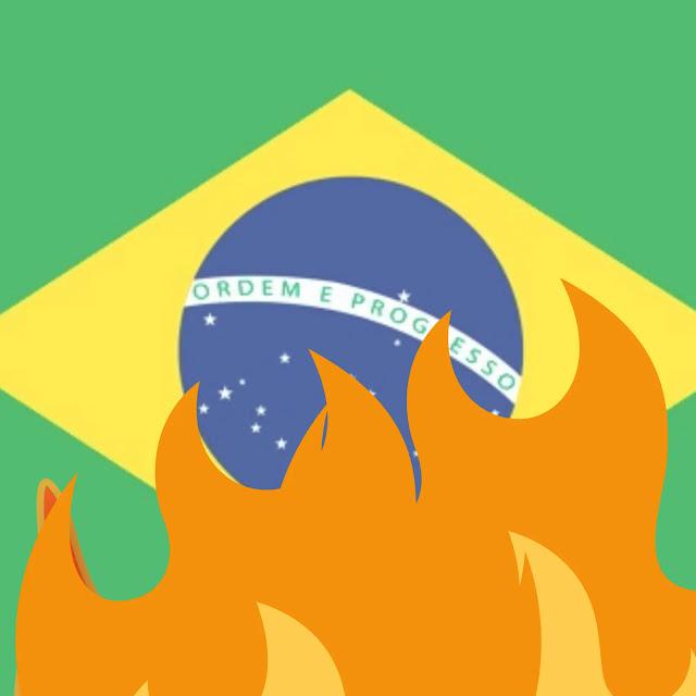 labaredas no brasil