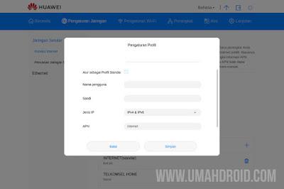 Langkah Setting APN Telkomsel Orbit