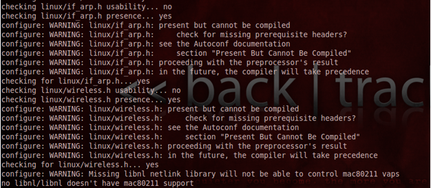 Open Security Research: Installing Lorcon2 on Backtrack 5 R2