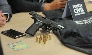 Graças a Bolsonaro suspeito de matar mãe e filho não será preso por porte ilegal de arma