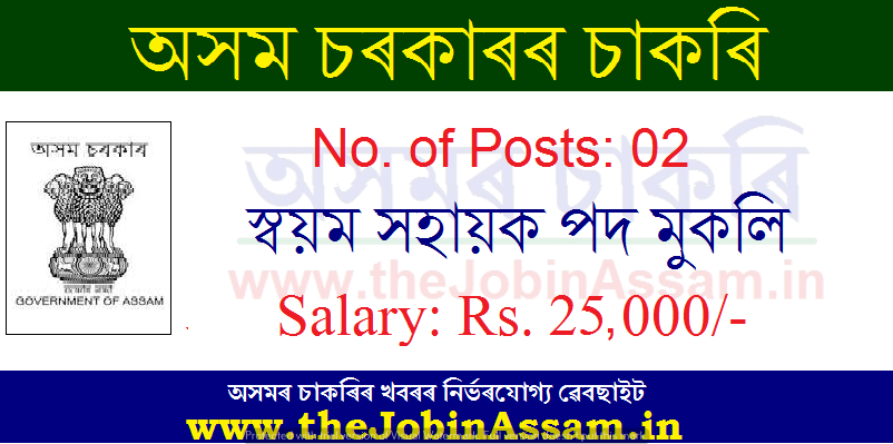 Deputy Commissioner, Hojai Recruitment 2020