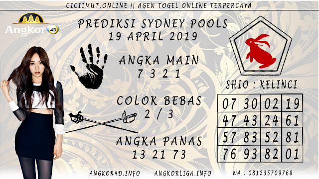 Prediksi Angka Jitu SYDNEY POOLS 19 APRIL 2019