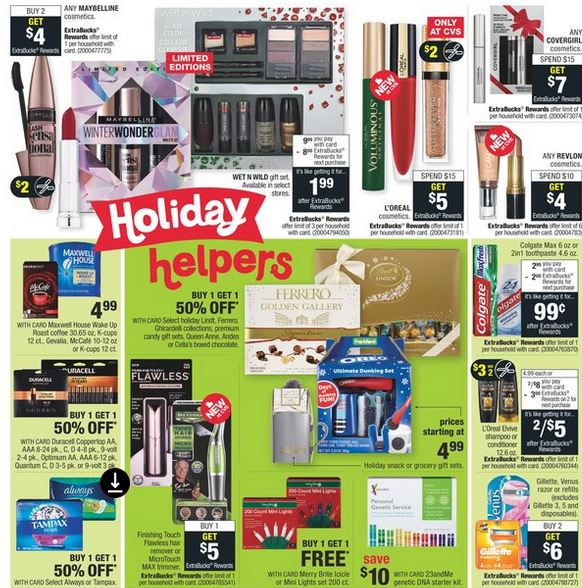 CVS Weekly Ad Preview 1117-1123 Page 2