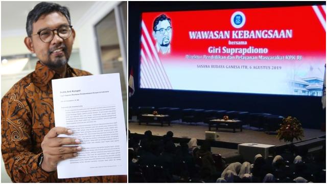 Giri Suprapdiono, Guru Wawasan Kebangsaan Tak Lolos TWK, Siap Diadu Debat dengan Ketua KPK