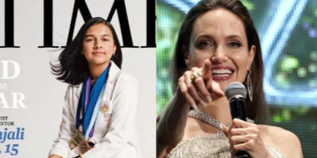 Gitanjali Rao dan Angelina Jolie