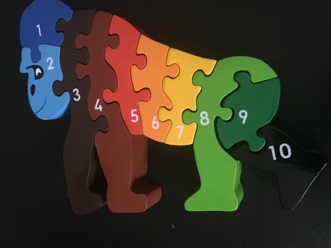 lanka-kade-gorilla-wooden-puzzle-each-piece-a-different-colour-and-numbered