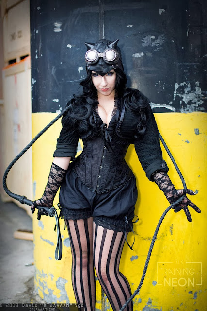 steampunk catwoman costume womens clothing plus size fashion