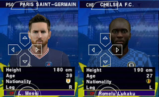 Download eFootball PES 2022 PPSSPP English Commentary New Update Transfers & Best Graphics 4K New Faces