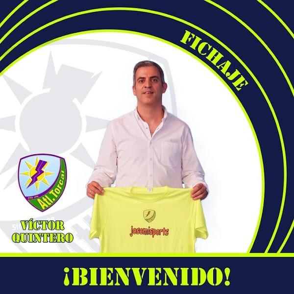 Oficial: Víctor Quintero vuelve a coger las riendas del Atlético Torcal