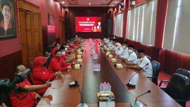PDIP dan Gerindra Jateng Gelar Pertemuan, Bahas Koalisi Prabowo-Puan?