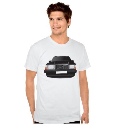 Volvo 740 t-shirt t-troja