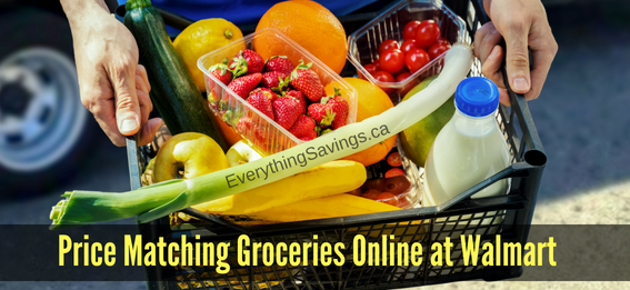 How to Price Match When Grocery Shopping Online at Walmart