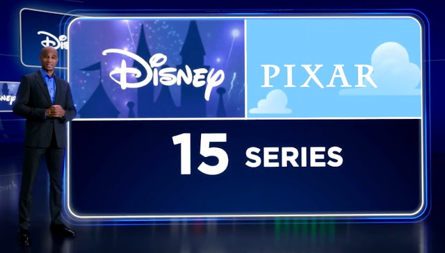 Disney Investor Day 15 New Series and Features