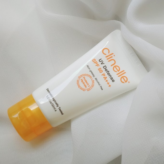 Review Clinelle UV Defense SPF 50 PA+++