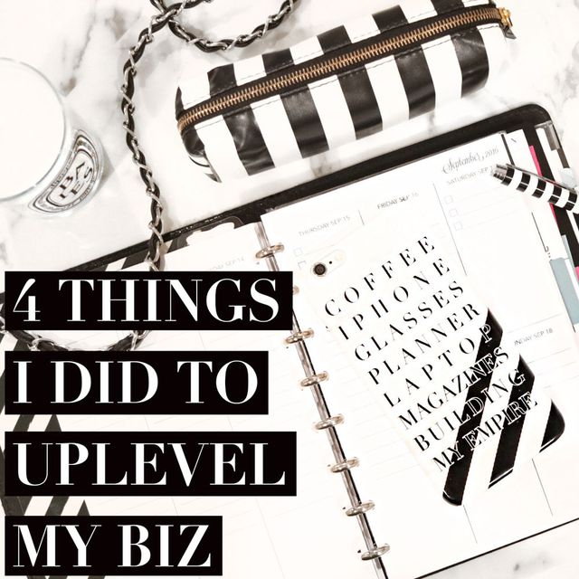 The 4 Things I Did to Uplevel My Business: Business-Development, Business-Strategy,