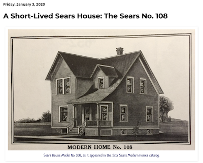 catalog image of Sears model No 108, early version