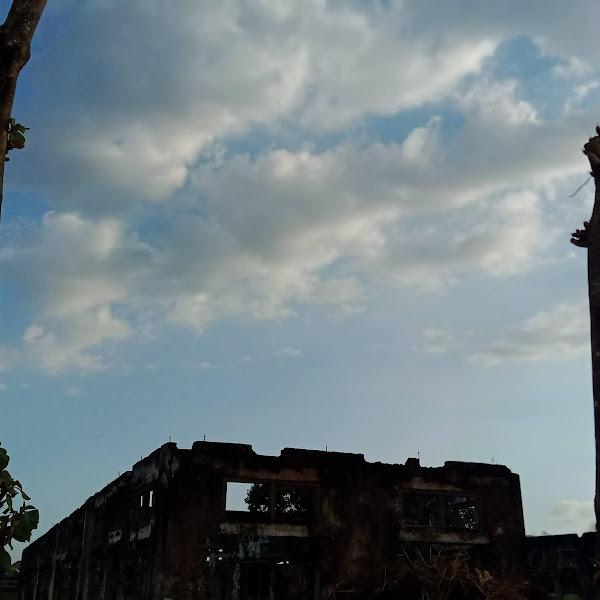 Bangunan Terbengkalai di Pare Kediri