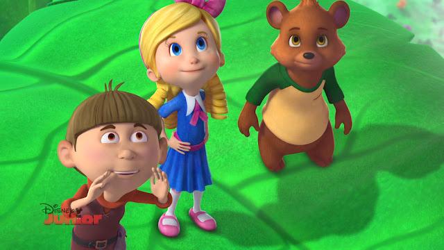 Złotowłosa i Miś – nowy serial w Disney Junior