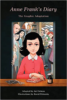 what i m reading: graphic adaptation of anne frank s diary