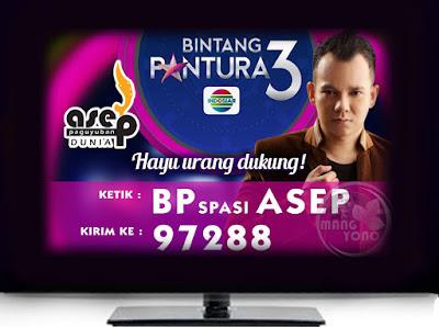 Asep AS Subang Satu - Satunya Finalis Laki - Laki Bintang Pantura 3 Yang Masuk Babak 8 Besar