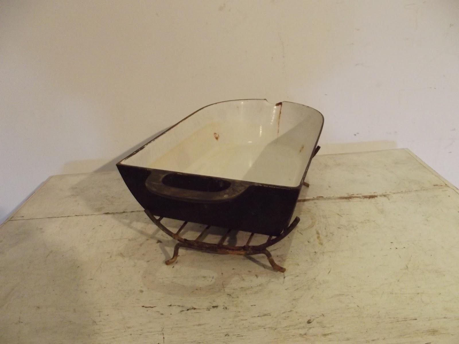l che frite plat a jus en fonte pour tourne broche de. Black Bedroom Furniture Sets. Home Design Ideas