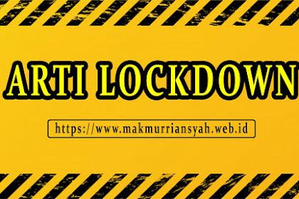 Arti Lockdown