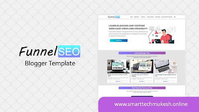Funnel SEO - Premium Responsive Blogger Template