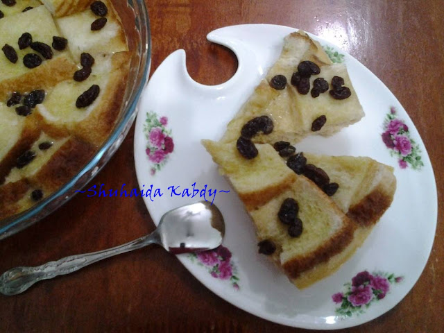 Resepi Puding Roti Kukus