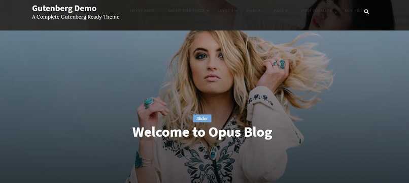 opus blog theme for affiliate marketing