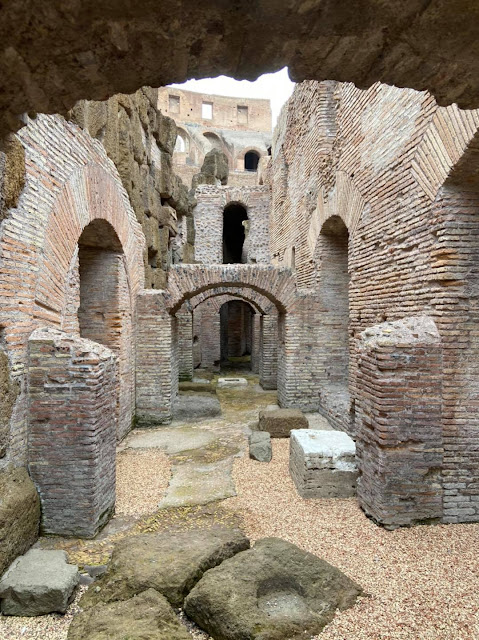 Colosseum's underground labyrinth opens to the public