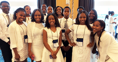 Jack and Jill of America Foundation Scholarship recipients
