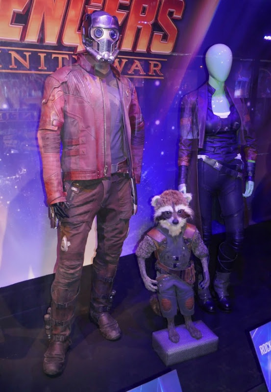 Guardians of Galaxy costumes Avengers infinity War