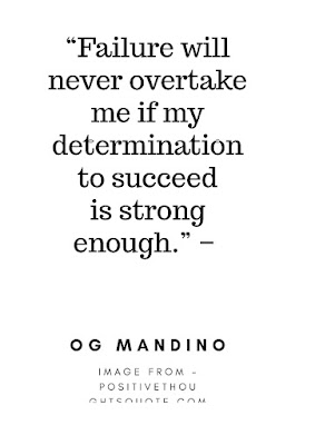 OG MANDINO, quotes and Thoughts