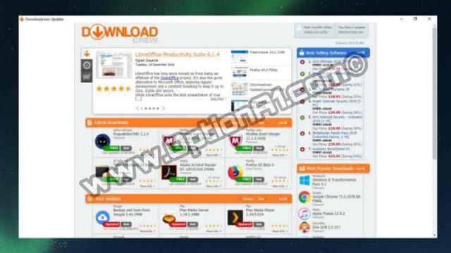 تحميل برنامج Downloadcrew UpdateScanner لتحديث برامج الويندوز