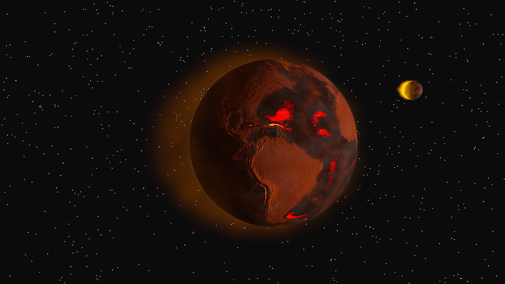 """""""A Scorched and Burnt Future Earth"""" by Kevin M. Gill is licensed under CC BY 2.0"""