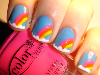 Tutorial of the Rainbow Nail