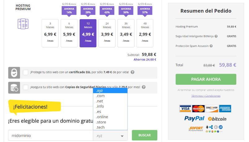 Hostinger Web Hosting Premium