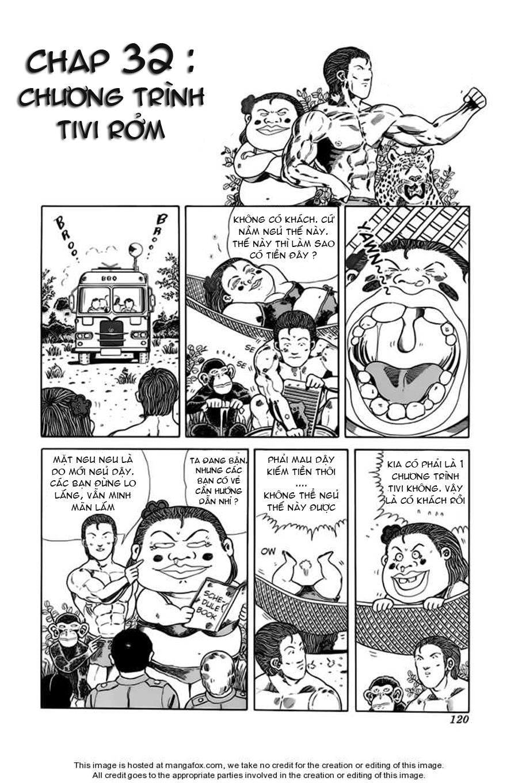 Chúa rừng Ta-chan chapter 32 trang 1