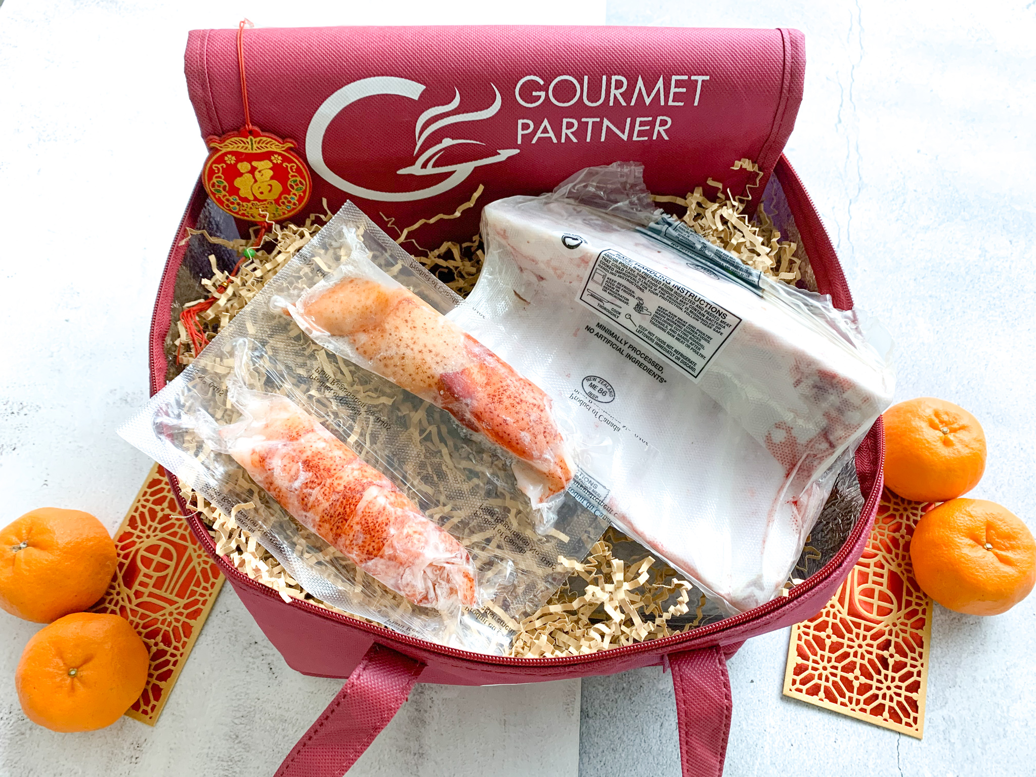 Gourmet Partner: Happy 'Niu' Year & Love at First Bite CNY & Valentine's Sets