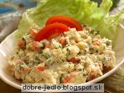 Zemiakovo-zeleninový šalát - recept