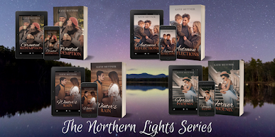 New Covers for The Northern Lights Series