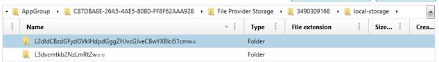 File Provider Storage