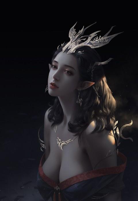 Tiểu long nữ xinh đẹp