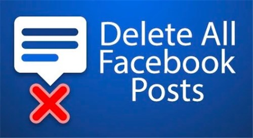 Delete All Posts From Facebook