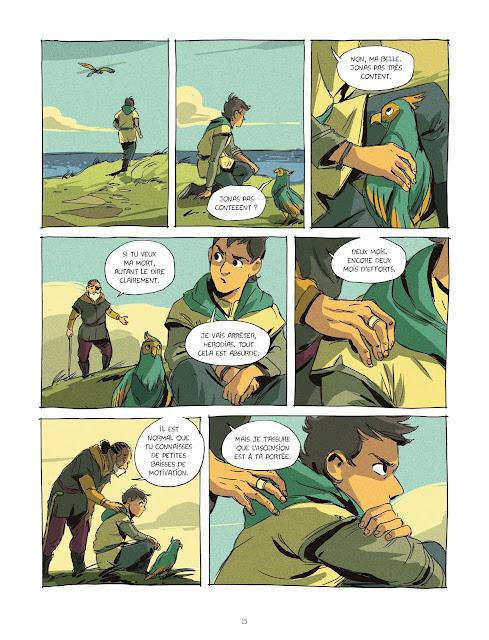 Eden tome 1 le visage des sans-noms Rue de Sèvres page 15